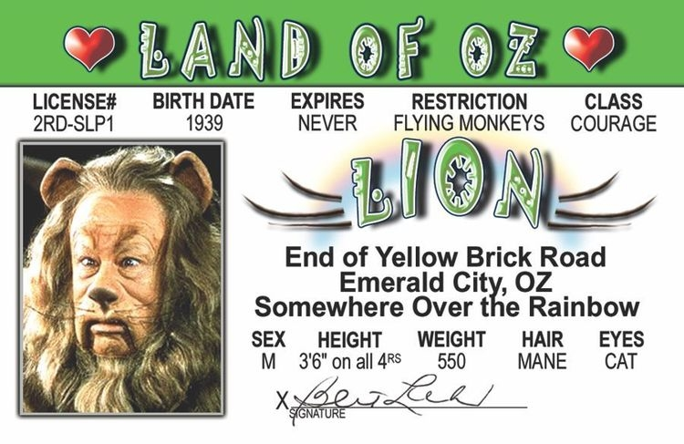 Lion of Oz ID