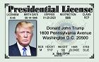 Signs 4 Fun Mgusp President Trump Magnet