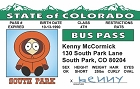 So Park - Kenny Bus Pass