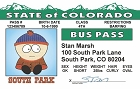 So Park - Stan Bus Pass