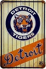 Detroit Tigers Replay Sm. Parking Sign