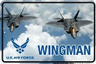 Air Force Wingman  Sm. Parking Sign