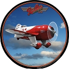 Gee Bee Aircraft Round Sign