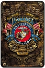 Marines Est. 1775 Sm. Parking Sign