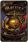 Marines Brotherhood Sm. Parking Sign