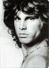 Jim Morrison Portrait Sm. Parking Sign