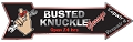 Busted Knuckle Arrow Sign | Signs 4 Fun