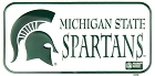 Michigan State Spartans Bike Tag