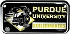 Purdue University Boilermakers Bike Tag