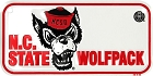 North Carolina State  Wolfpack Bike Tag