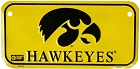 University of Iowa Hawkeyes Bike Tag