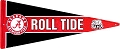 University of Alabama Roll Tide Pennant