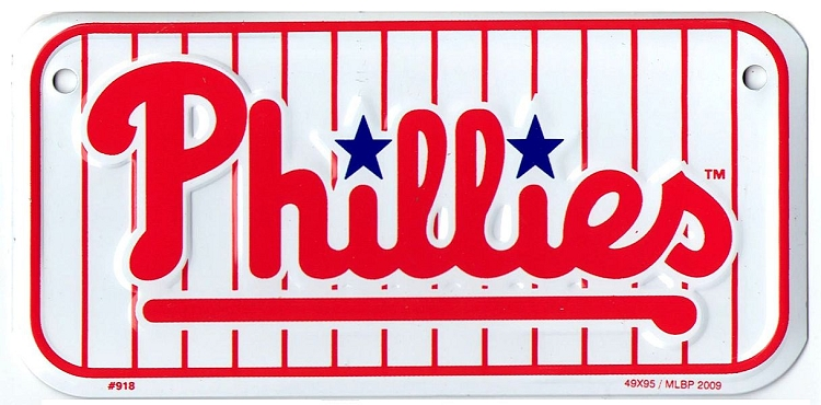 Philadephia Phillies Bike Tag