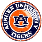 Auburn University 24 inch Large Round Sign