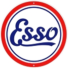 Esso Oil 24 inch Large Round Sign