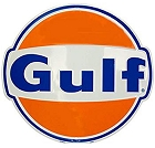 Gulf Oil 24 inch Large Round Sign
