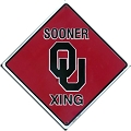 University of Oklahoma Sooners Crossing Sign