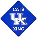 Univ. of KY Wildcats Crossing Sign