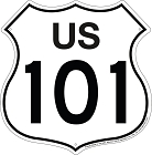 Route 101 Shield