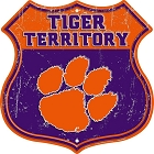 Clemson Tigers Territory Shield