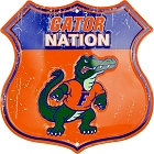 Florida Gator Nation Shield