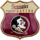 Florida State Seminoles Nation Shield