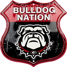 Georgia Bulldog Nation Shield