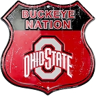 Ohio State Buckyeye Nation Shield