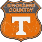 University of Tennessee Big Orange Country Shield