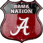 Alabama Nation Shield