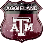 Texas A&M Aggieland Shield