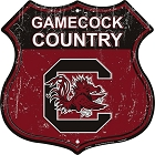 University of S. Carolina Gamecock Country Shield