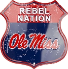 Mississippi Rebel Nation Shield