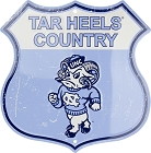 North Carolina Tar Heels Country Shield