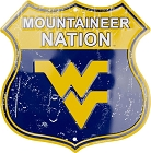 West Virginia Mountaineer Nation Shield