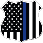Thin Blue Line Shield