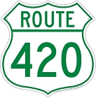 Route 420 Shield