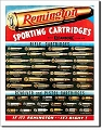 Remington Cartridges Metal Sign