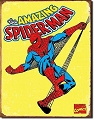 Spider-Man Metal Tin Sign