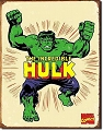 Incredible Hulk Metal Tin Sign