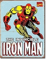 Iron Man Metal Tin Sign