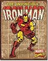 Iron Man Retro Metal Tin Sign