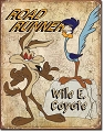 Roadrunner Metal Tin Sign