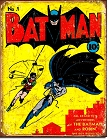 Batman #1 Cover Metal Tin Sign