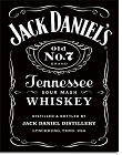 Jack Daniel's Label Old #7 Metal Tin Sign