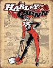 Harley Quinn Retro Metal Tin Sign