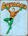 Aquaman Retro Metal Tin Sign