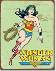 Wonder Woman Metal Tin Sign