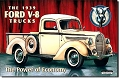 Ford '39 Pick Up Metal Tin Sign