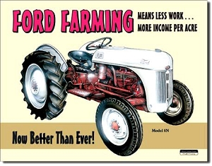 Ford Farming Metal Sign